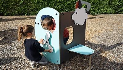 Uitrusting van speelterreinen